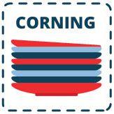 צלחות קורנינג CORNING